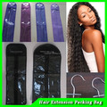 custom hair extension packaging Garment Bags