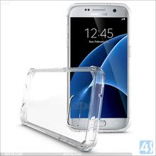 Air Cushion Technology Bumper Case with Clear Back Panel for SAMSUNG Galaxy S7 /G930 Air Hybrid case