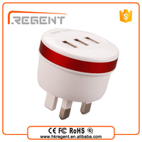 Wholesale Eu Plug Us plug Usb Home Wall Charger Power Adapter 5v 1A 2A 3A For cell phone
