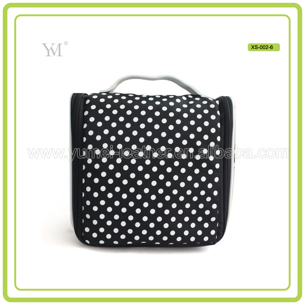 New Design Custom Wash Toilet Bag Wash Bag With Zipper Closure