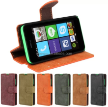pu leather flip and fold mobile cover for Nokia Lumia 530