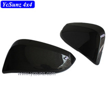 2017 ABS Carbon Fiber Side Door Mirror Cover For Fortuner 2016 Auto Accessories