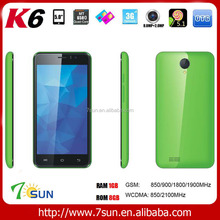 alibaba express china K6 mobile phone android