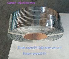Stitching wire for corrugated box/ pvc coated steel wire/ black iron wire