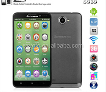 Original Lenovo S939 MTK6592 Octa Core Cell Phone 6'' HD IPS Android 4.2 1GB RAM 8GB ROM 8MP GPS Dual SIM WCDMA In Stock