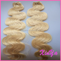 Hot style Brazilian hair weave blond hair extensions for white people