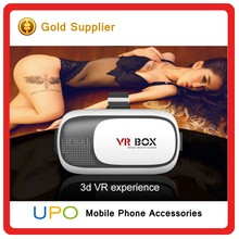 [UPO] ORIGINAL Virtual Reality VR box 3d video glasses smart phone VR BOX with remote control