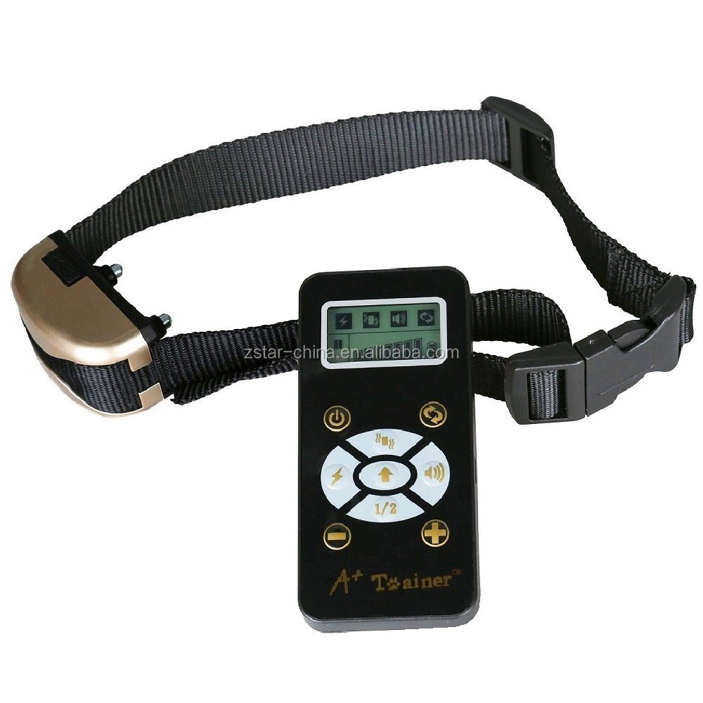 FGN Dog Training Collar Manual Automatic Waterproof E Collar, Rechargeable Operation with 800yards Wireless Remote Control