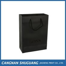 Top sale logo printed eco friendly shopping paper bags