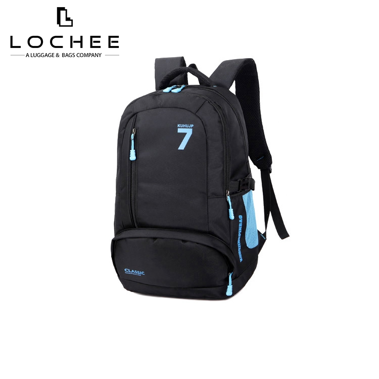 Nylon Business Quality Foldable Laptop Trolley Backpack Bag