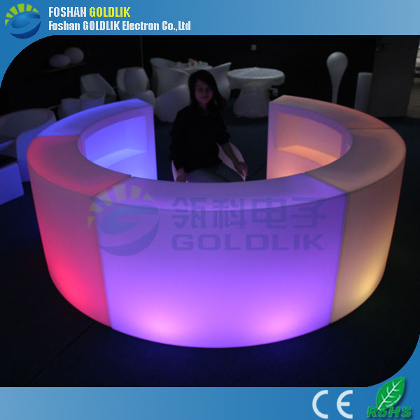 LED glowing bar counter table &amp outdoor bar music furniture