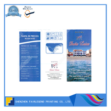 20 Years Experienced China Printer Printing Hotel Flier
