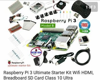 raspberry pi 3 ultimate starter kit wifi hdmi cable