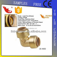 LBA-GUTEN TOP natural gas pipe fittings gas pipe compression fittings