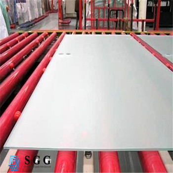 4mm 5mm 6mm 8mm 10mm 12mm 15mm frosted acid etched float glass price