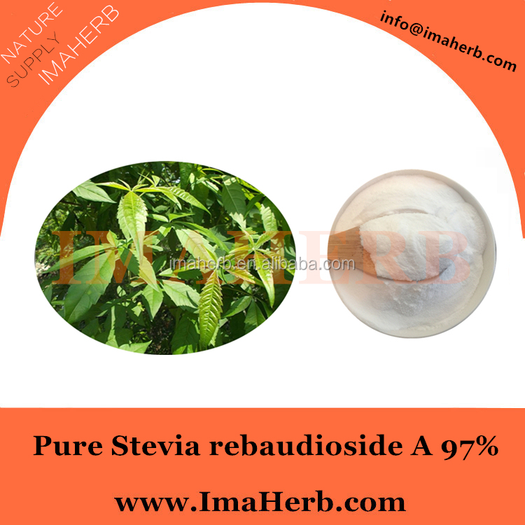 ISO Appreved natural pure natural powder stevia extract 99% steviosides/ 98% reb-a