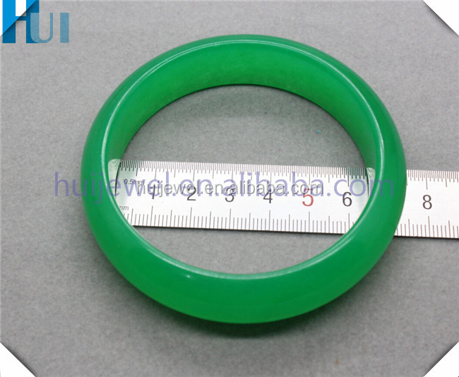 high quality green jade bangle jade jewelry with size for European women