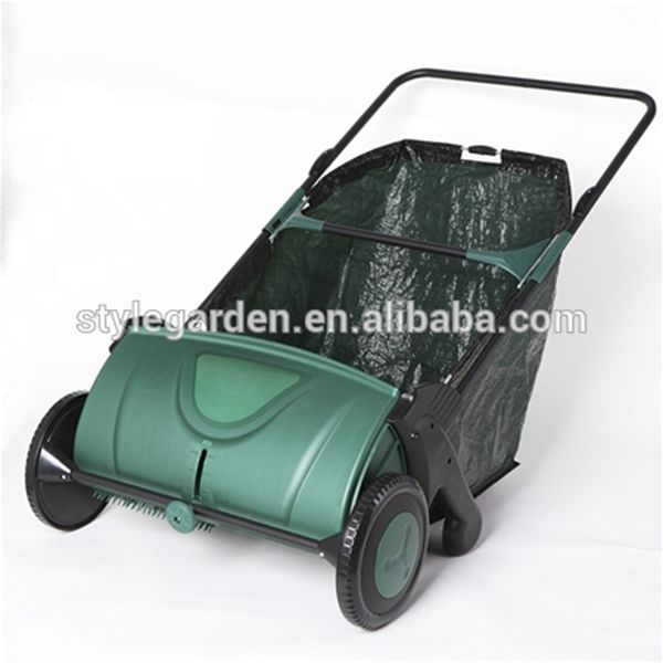Style Garden manual push leaf sweeper