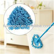 Chenille mop with dry and wet cleaning,easy clean mop