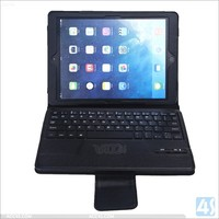 New PU leather bluetooth keyboard cover case for ipad air 2 , for ipad air 2 bluetooth keyboard