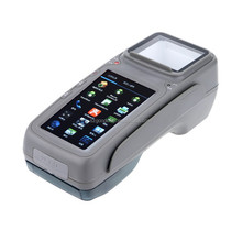 Touch screen ticket machine with receipt printer for mobile business management( Gc028+)