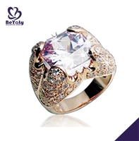 Fashion wholesale exquisite gold ring models