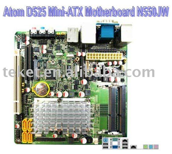 Intel Atom N550 Mini-ITX Motherboard N550JW with NM10