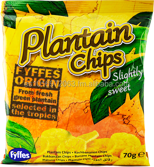 PLANTAIN CHIPS / BANANA CHIPS FYFFES
