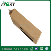Customized craft paper packaging wine box/Strong Corrugated Cardboard Wine Box