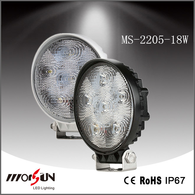 18w Led Work Light For Truck, Led Focus Light