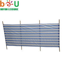 Beach Wind Break With PE Fabric