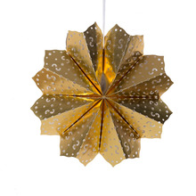 Multicolored folding Snowflake Tissue Paper Fan for Christmas Decoration Wedding Birthday Hanging Paper Fan