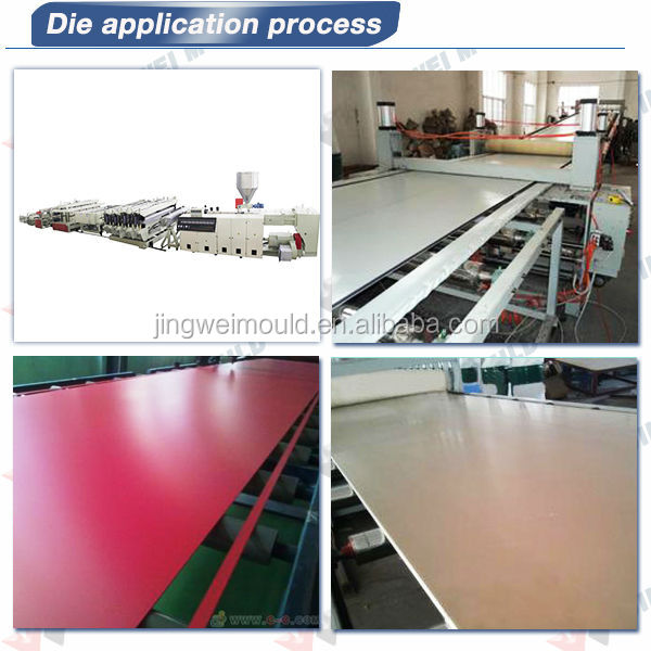 co-extruded pvc foam sheet Extruded PVC Sheet mould