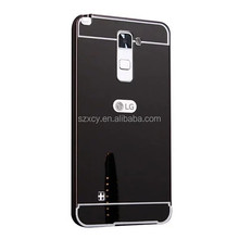 Hot Selling Aluminum Metal Mirror Cell Phone Case For LG stylus 2