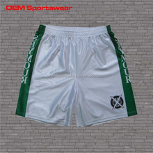 Dry fit low moq wholesale sublimation basketball shorts