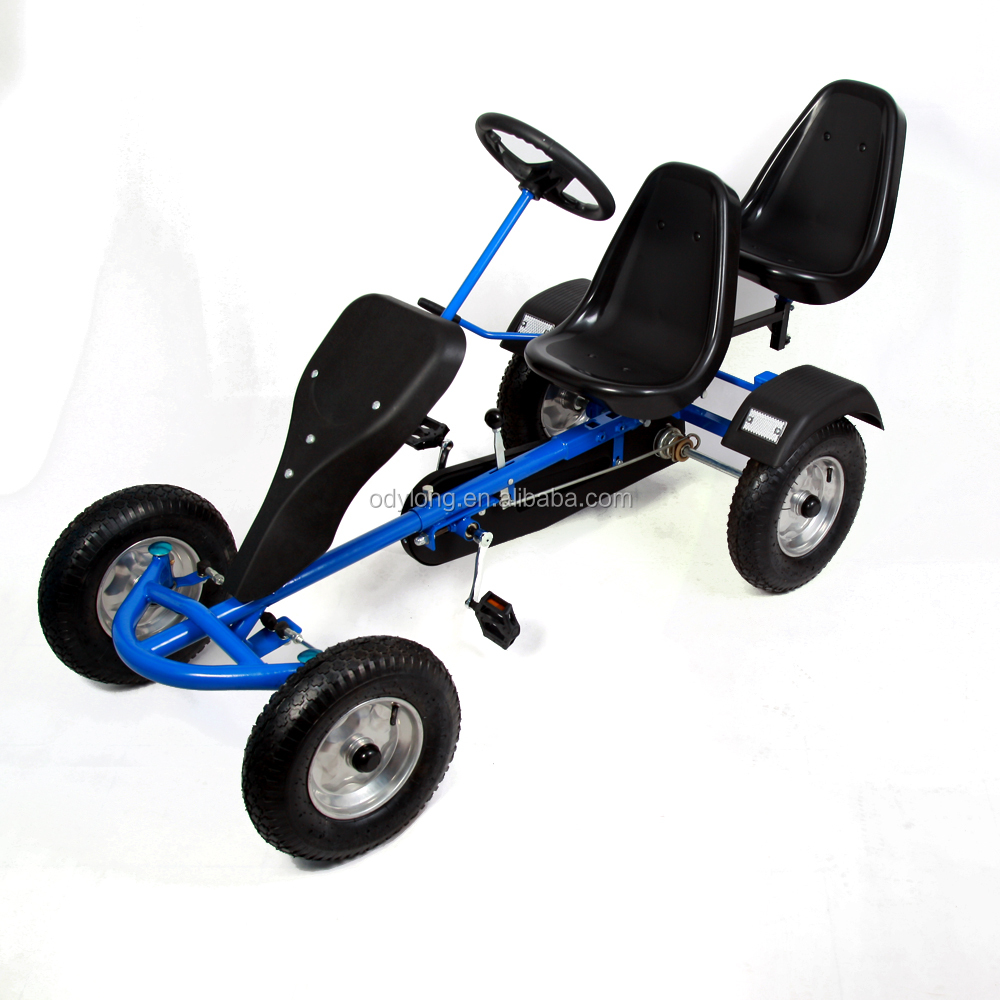 2 seat adult pedal go kart two seater F160AB