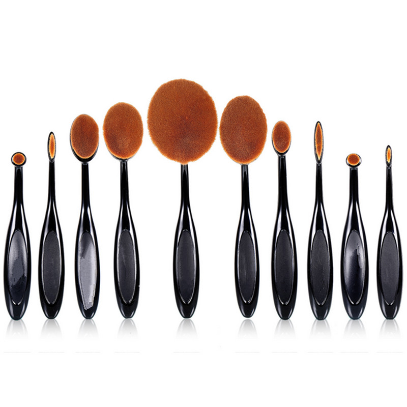 High Quality Soft Hair Blush Brush Professional Makeup Brushes Tool Kit Cosmetic Make Up Brush Gift Set <strong>Beauty</strong>