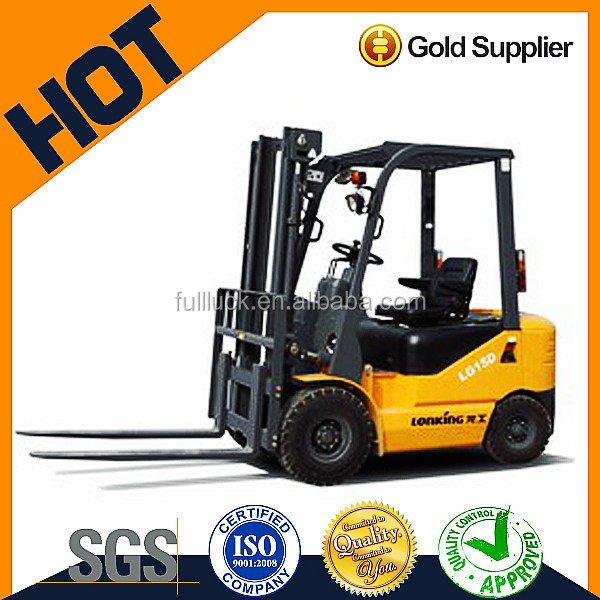 China forklift truck /mini forklift for sale,1.5 t diesel engine forklift