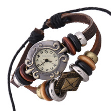 Free samples fashion leather wrist watches custom service accept factory made in China quartz watches