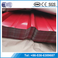 Professional Plastic Factory Prepainted Color Corrugated Roofing Sheets Price Per Sheet
