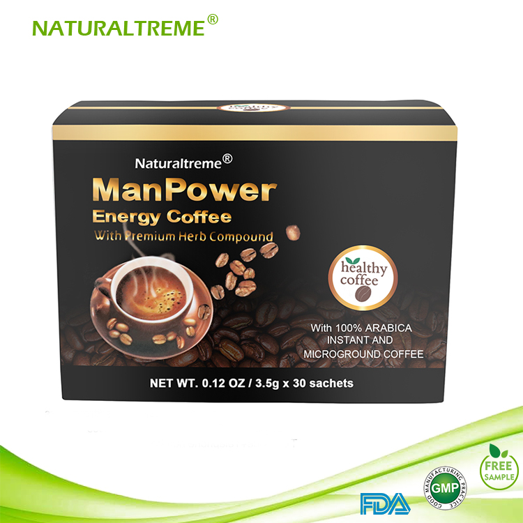 FDA Approved Ganoderma Power Coffee for Men