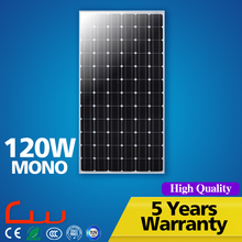Monocrystalline 120W solar panel off grid home system complete
