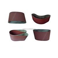 aluminum oixde abrasive soft Butt Joint sanding belt for wide abrasive belt machine