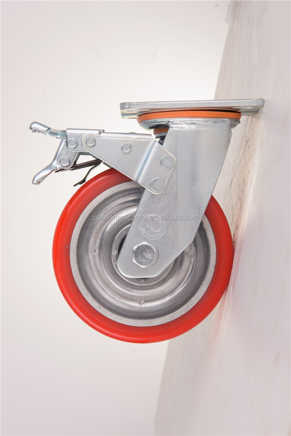 medium duty swivel caster <strong>wheel</strong> with brake