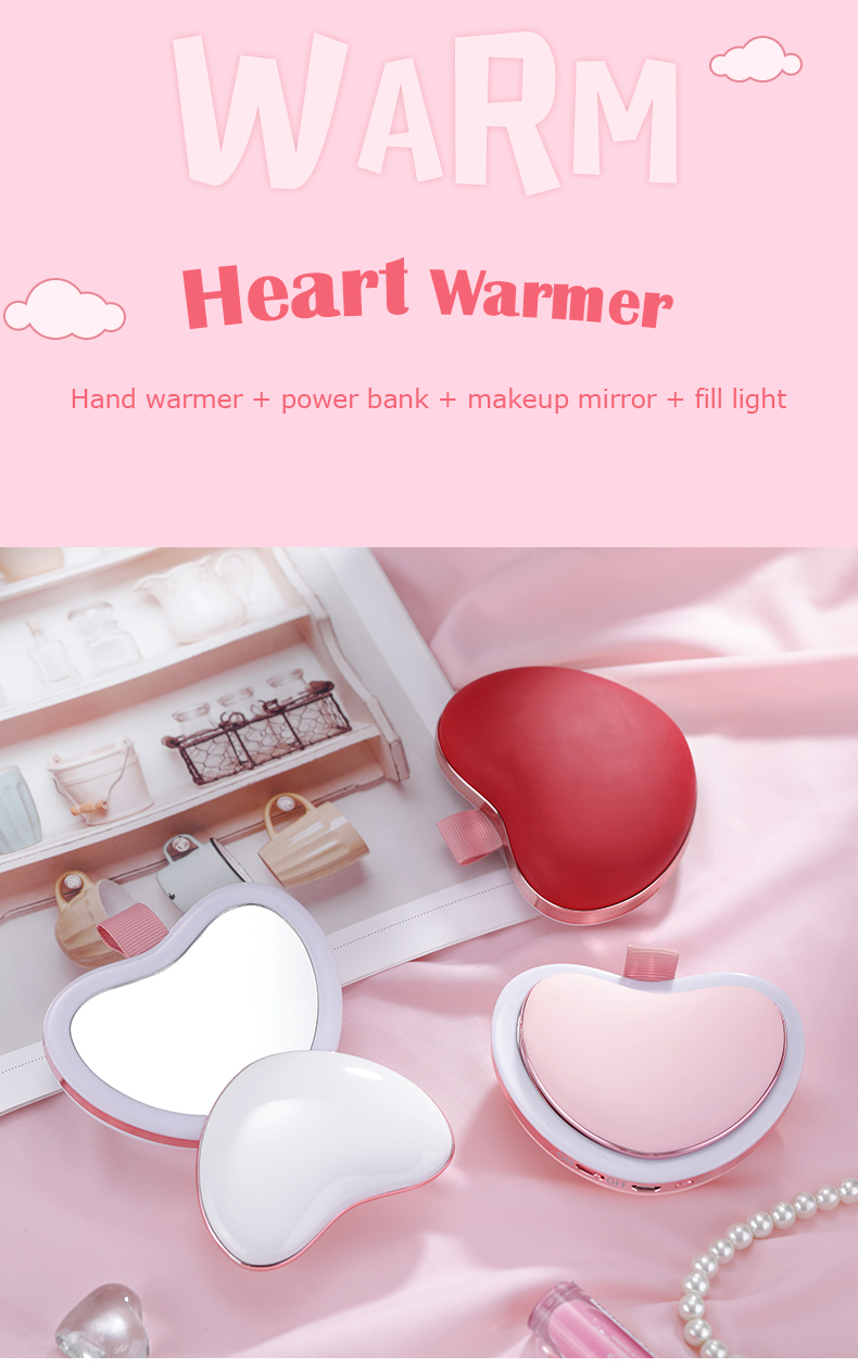 New products mini rechargeable usb hand warmer