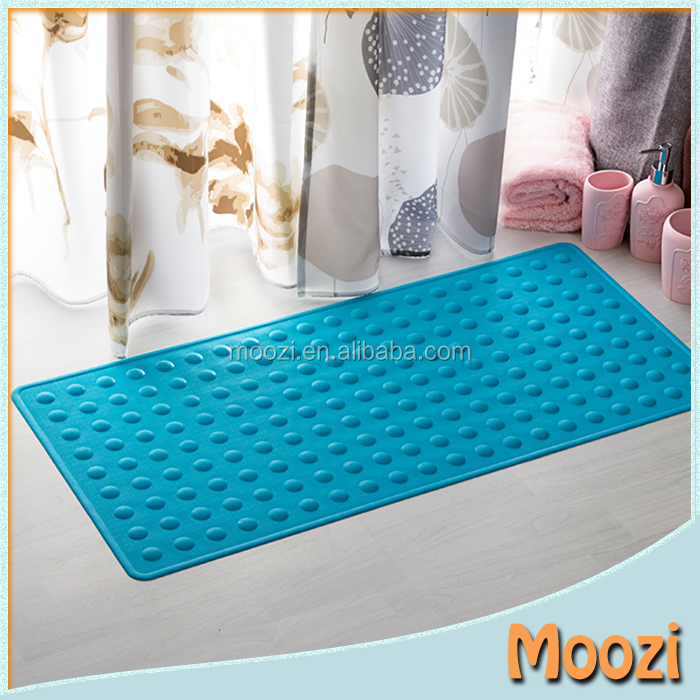 2016 High Quality Fashion Custom Logo Bubble Anti Bacterial Rubber Mat