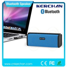 2015 new design bluetooth portable rechargeable self eco power speakers
