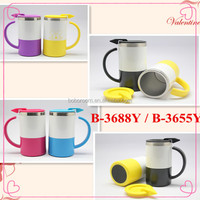 Convenient Stainless steel office cup/ coffee cup/ travel cup