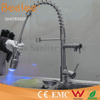 Pull Out Kitchen Faucet Led Self