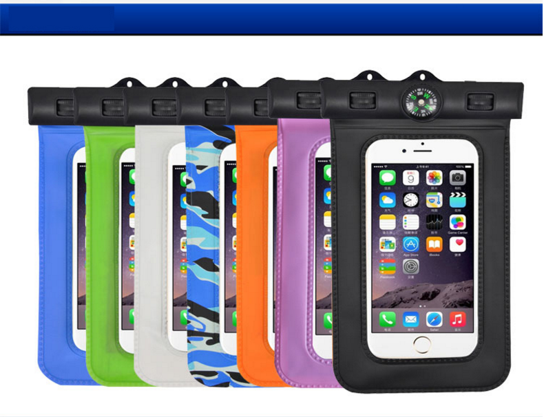 Zomei high quality Mobile Phone Compass PVC Waterproof Bag
